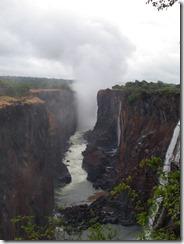 Victoria Falls - plume