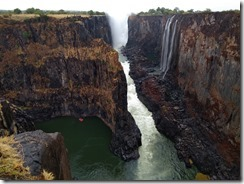 Victoria Falls - towards Zimbabwe